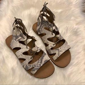 🆕☀️ 4/$15 Gap Snakeskin Sandals